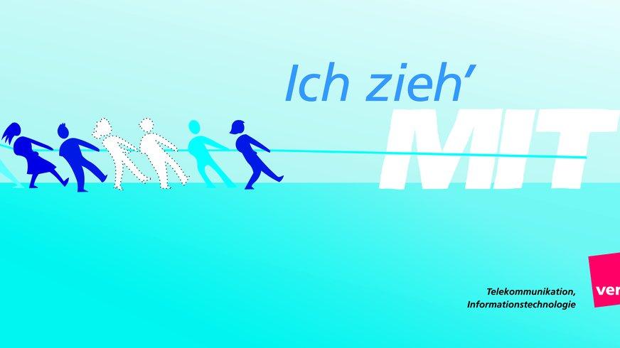 Ich zieh mit: Logo Tarifkampagne