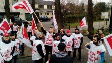 Warnstreik bei den Tochtergesellschaften der Uniklinik Düsseldorf