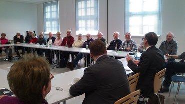 Der Oberbürgermeister zu Gast bei den ver.di Seniorinnen und Senioren