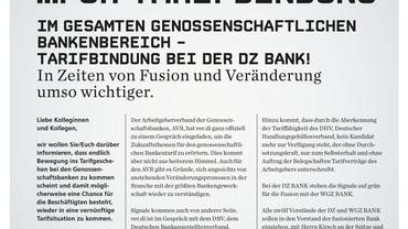 DZ Bank Info vom 07.12.2015