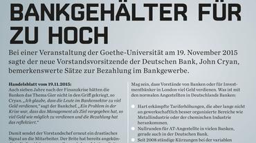 Deutschen Bank Info vom 27.11.2015