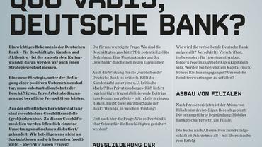 Quo vadis, Deutsche Bank?