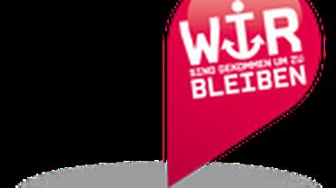 """Logo AG Befristung: """"Wir bleiben"""""""