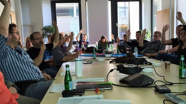 Mitgliederversammlung DT Service Düsseldorf am 16.10.2017