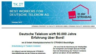 Sonderinfo STRABAG: Telekom wirft Erfahrung über Bord - Teaser