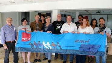 Delegation der CWA zu Gast im Bezirk Düsseldorf