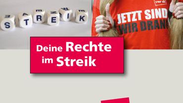 Deine Rechte im Streik
