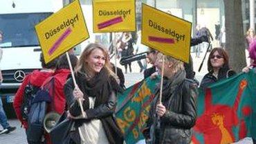 Impressionen Int. Frauentag 2014 in Düsseldorf