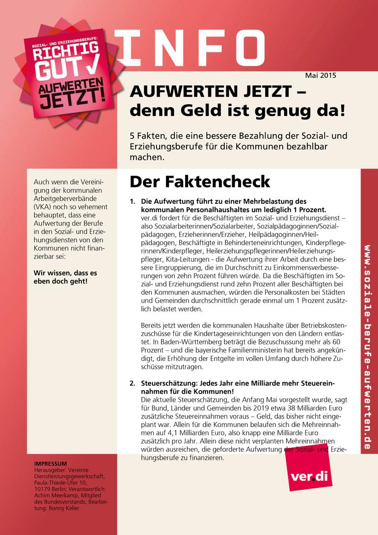 SuE-Info vom 31.05.2015