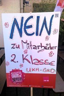 Tochterunternehmen der Uni Klinik Düsseldorf weiter im Streik - 27.04.2017
