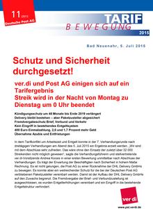 Post-Info vom 05.07.2015