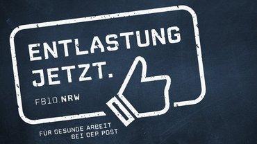 Entlastung jetzt - ver-.di Postdienste NRW