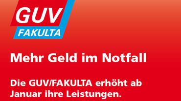 Neue Leistungen der GUV/FAKULTA ab 2018