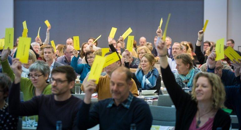 Stimmabgabe Bundestarifkommission