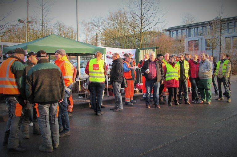 Warnstreik ÖD Solingen, 8. März 2018
