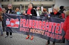 Demonstration am 10.03.2018 in Düsseldorf