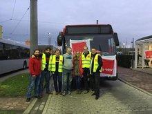ver.di Warnstreik bei der Rheinbahn; Jugend (ver.di),