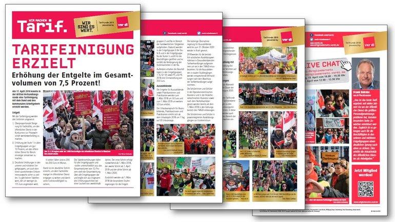 Flugblatt Tarifeinigung Bund und VKA 17.04.2018
