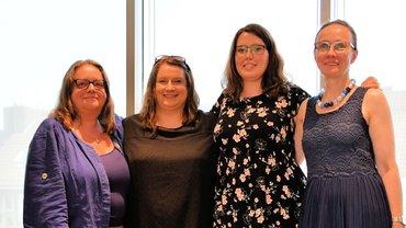 Vorsitzendenteam des Bezirksfrauenrates - Teaserformat