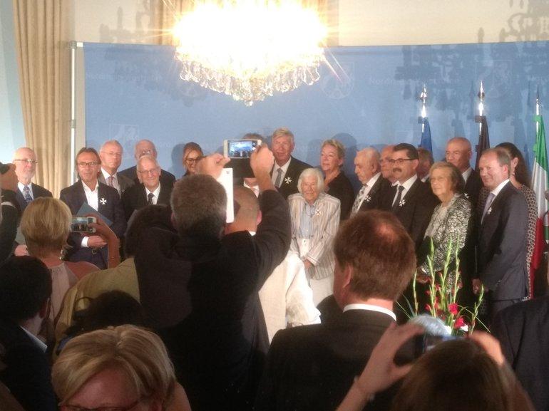 Preisverleihung des Verdienstorden des Landes NRW