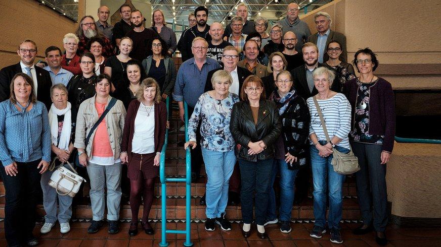 Der ehrenamtliche Bezirksvorstand ver.di Düssel-Rhein-Wupper
