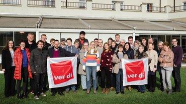 Das Team des Bezirks Düssel-Rhein-Wupper Januar 2019