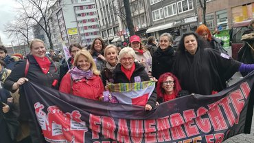 Internationaler Frauentag Düsseldorf