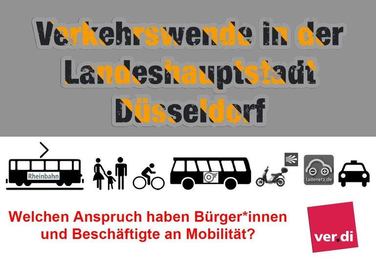 Verkehrswende Düsseldorf - Baustelle
