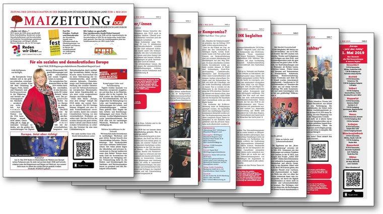DGB Mai-Zeitung 2019  - DGB Düsseldorf Bergisch Land