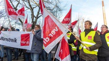 Warnstreik BARMER am 16.01.2020 in Essen