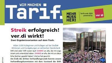 Tarifinfo Verhandlungsergebnis BARMER - Teaserformat