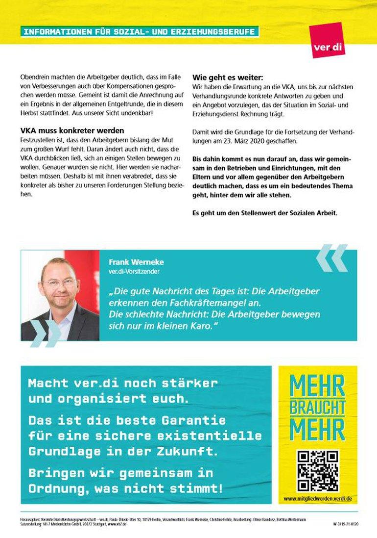 Flugblatt Auftakt Tarifrunde im Sozial- und Erziehungsdienst (05.03.2020) - Seite 2