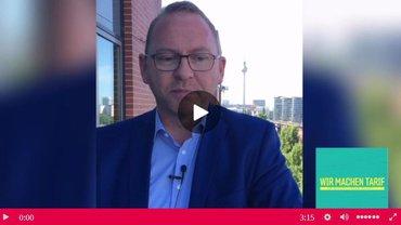 Startbild Video-Statement Frank Werneke