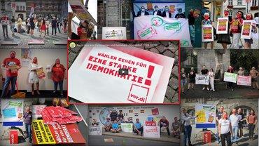 Aktionswoche gegen Rechts - August 2020 - im Bezirk Düssel-Rhein-Wupper
