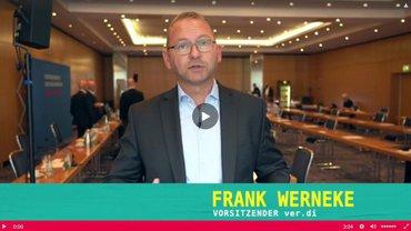 Startbild Video-Statement Frank Werneke 25.08.2020
