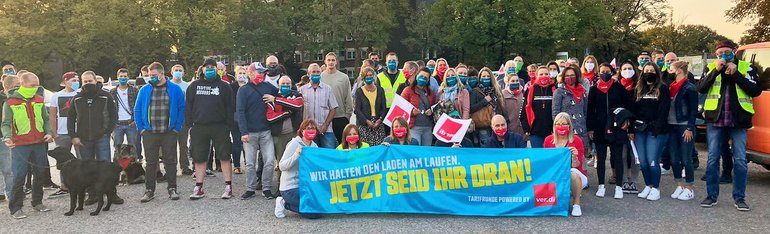 Warnstreik Remscheid, 22.09.20220