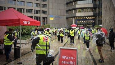 Warnstreik DRV Düsseldorf, 7.10.2020