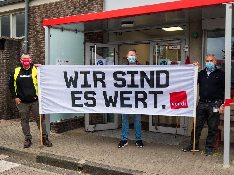 Warnstreik TV-N am 15.10.2020 bei der Rheinbahn AG