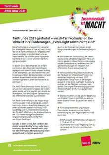 Flugblatt 01 Tarifrunde AWO NRW 2021