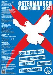 Flyer Otsermarsch Rhein / Ruhr 2021 - Titelblatt