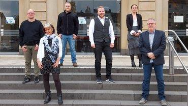 ver.di Team zur GPR-Wahl 2021 bei der Stadtverwaltung Wuppertal