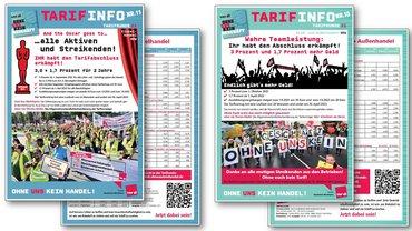 Tarifinfos Abschlüsse 2021 Handel NRW